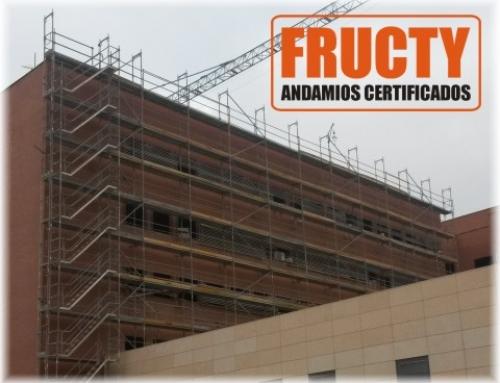 Andamios Hospital Murcia