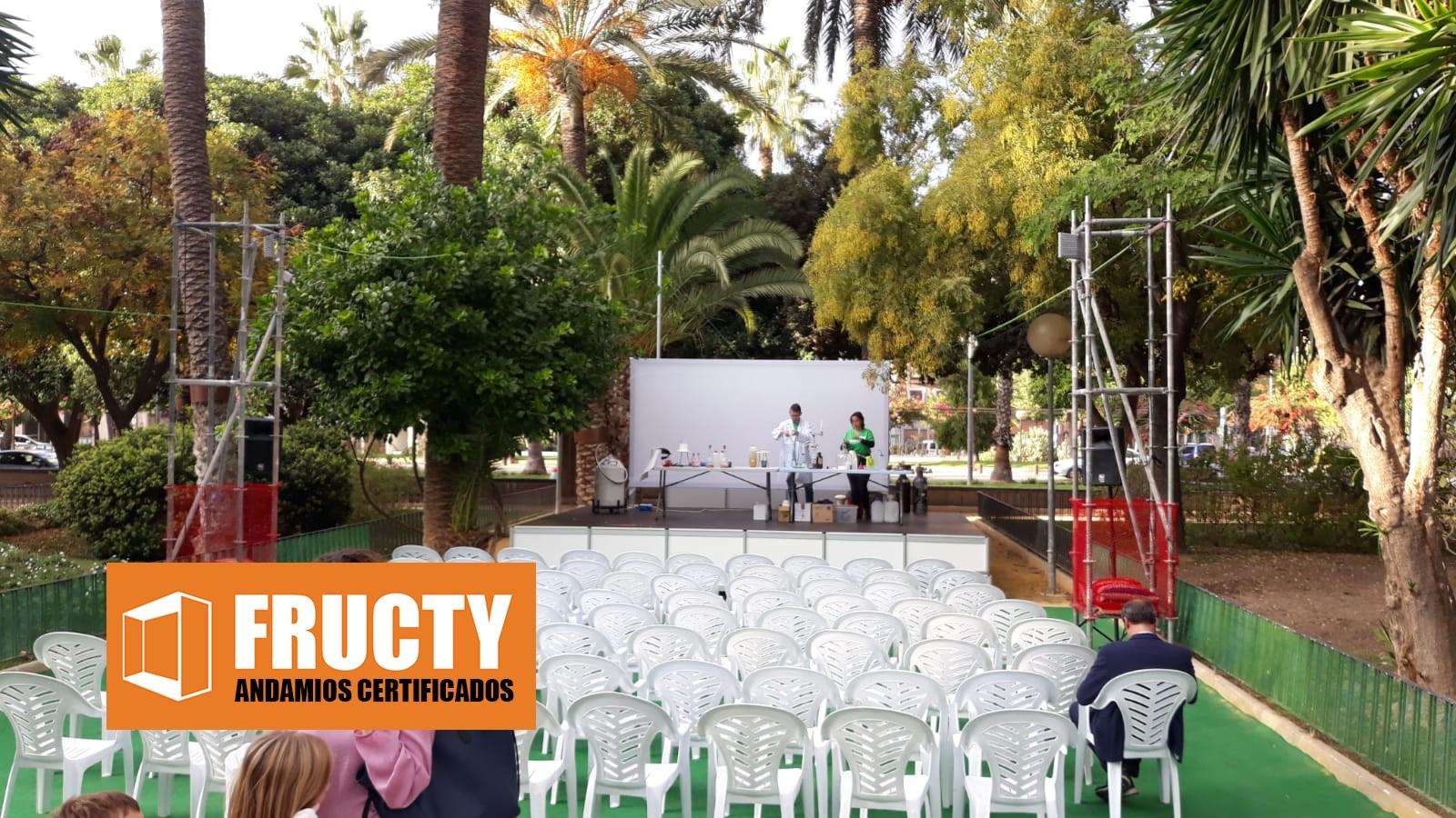 Andamios en Secyt Murcia 2018